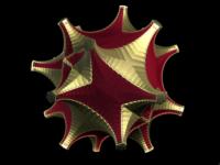 Red Gold Fractal
